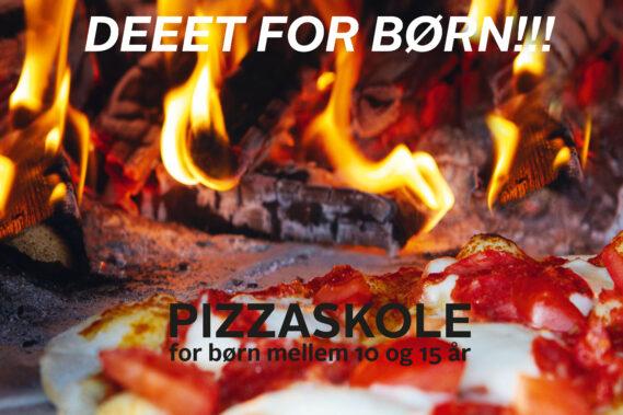 Morsø event med Pizzaskole for børn